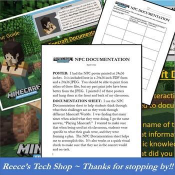 Minecraft Education NPC Poster