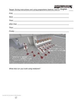 Minecraft English Ep 14 - Redstone Traps