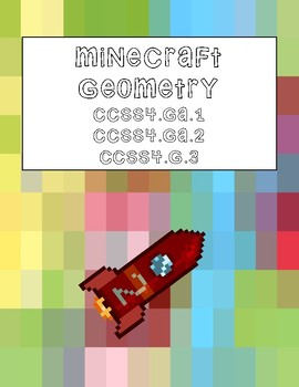 Minecraft Geometry Performance Based Assessment Activity with Rubric