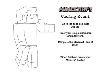 Minecraft Hour of Code Activity Page