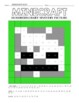 Minecraft Inspired Hundreds Chart Coloring Pages