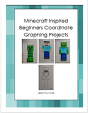 Minecraft Inspired Beginners Coordinate Graphing Project