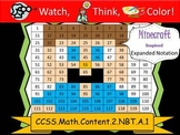 Minecraft Inspired Expanded Notation - Watch, Think, Color