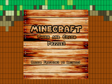 """Minecraft Inspired """"Relate Fractions to Decimals"""" Think an"""