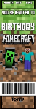 Minecraft - Invitation - FREE