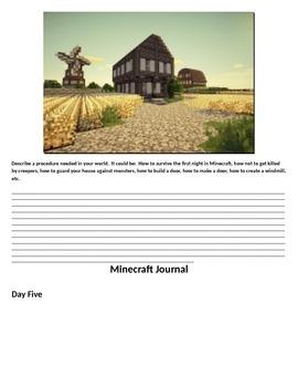 Minecraft Journal