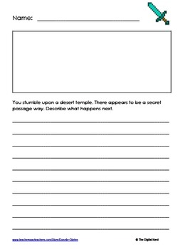 Minecraft Journal Prompts 2
