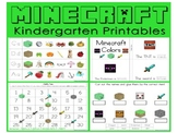 Minecraft Kindergarten - Maths and Literacy