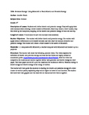 Minecraft Kinetic and Potential Energy Lesson Plan