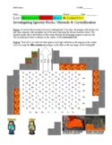 Minecraft Magma Math and Chemistry Investigation in Igneous Rock