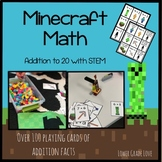 Minecraft Math - Addition to 20 with STEM