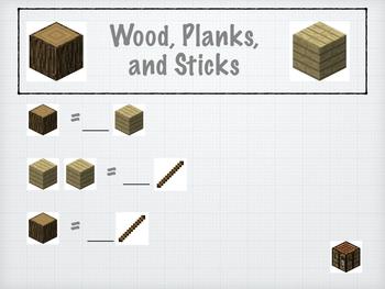 Minecraft Math- Home builder edition