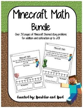 Minecraft Math Bundle