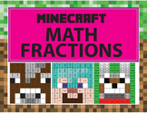 Minecraft Math Fractions