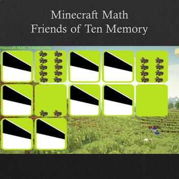 Minecraft Math - Friends of Ten Interactive Smartboard Activity
