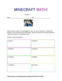 Minecraft Math Rescue: 3 digit addition with regrouping