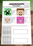 Minecraft Maths Booklet - Decimals, Percentages, Volume, Area and Perimeter