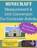 Minecraft Mathtivity: Remember the Alamo! 4th Grade Math and History