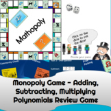 Minecraft Monopoly Game - Adding, Subtracting, Multiplying