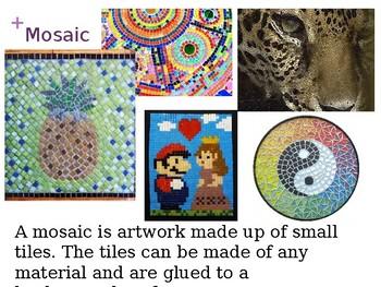 Minecraft Mosaic Art Project