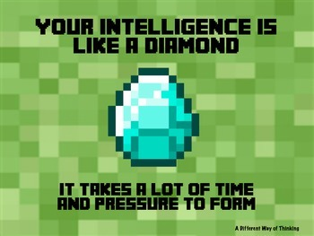 Minecraft Motivational Poster