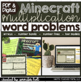 Minecraft Multiplication Word Problems