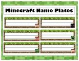Minecraft Name Plates