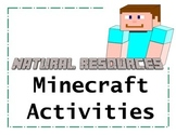 Minecraft Natural Resources Activities