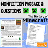 Nonfiction Passage with Comprehension Questions: Minecraft