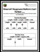 Minecraft Playground Perimeter and Area Activity Booklet