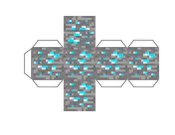 Minecraft Inspired Printable Net Blocks