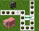 Minecraft Reading Race - CVC board game