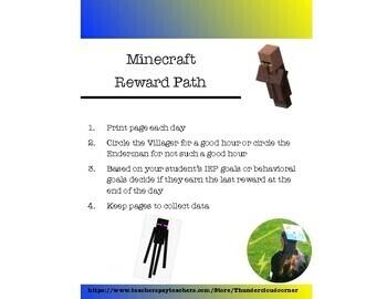 Minecraft Reward Path and Tracker