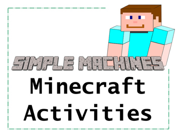 Minecraft Simple Machines Activities