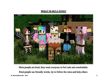 Minecraft Social Story Bullying