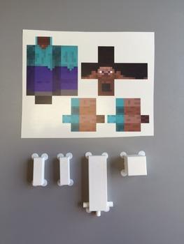 Minecraft - Steve Action Figure Kit