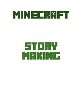 Minecraft Story Maker - Picture Book Making Lesson