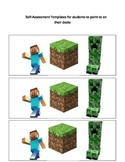 Minecraft Student Self-Assessment Poster