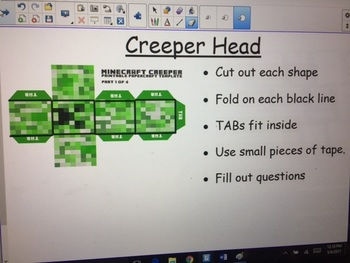 Minecraft Surface Area and Nets