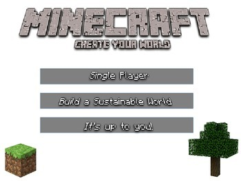 Minecraft Sustainability Project