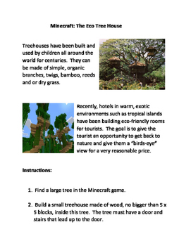 Minecraft: The Eco Tree House