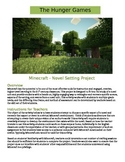 Minecraft - The Hunger Games: Novel Setting Activity