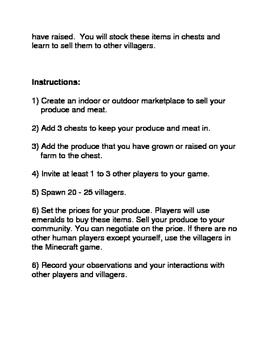 Minecraft: The Marketplace