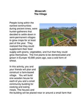 Minecraft:  The Village