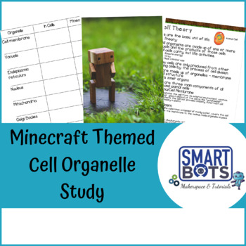 Minecraft Themed Cell Organelle Study