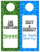 Minecraft Themed Door Hangers - Editable!