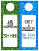 Minecraft Themed Door Hangers - Editable!