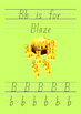 Minecraft Themed Handwriting Book