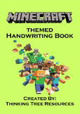 Minecraft Themed Handwriting Book