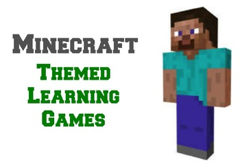 Minecraft Themed Learning Games